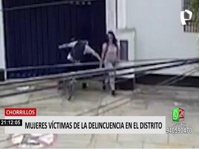 Inseguridad ciudadana toma las calles de Chorrillos pese a patrullaje