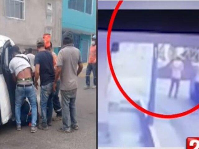 Chorrillos: Obrero resultó herido de bala tras ataque de sujetos en motocicleta