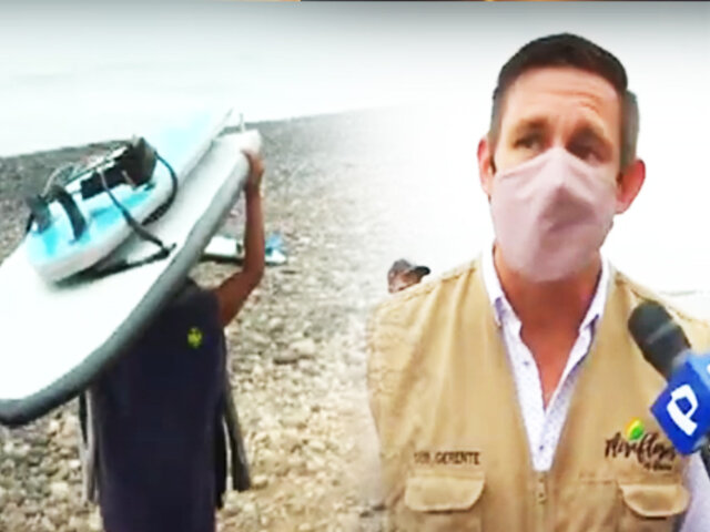 """Miraflores: """"Escuelas de Surf"""" no tienen permiso para funcionar"""