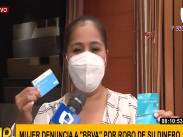 Surquillo: espera respuesta tras perder 25 mil soles en extraña operación bancaria