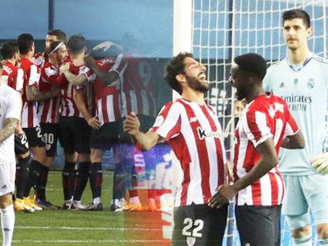 Real Madrid cae 2-1 ante el Athletic y queda eliminado de la Supercopa