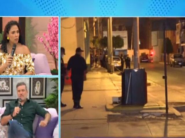 D' Mañana: Omar Ruiz de Somocurcio comenta caso de jugador de Mannucci herido en balacera