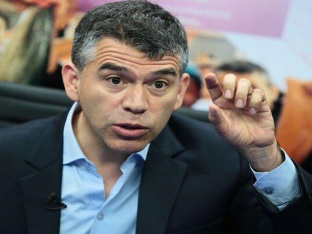 Partido Morado: Julio Guzmán anuncia que actividades proselitistas serán virtuales
