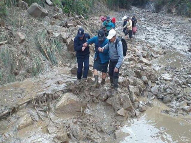 Cajamarca: declaran en emergencia distrito de San Ignacio tras caída de huaico
