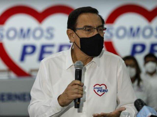 Martín Vizcarra fue excluido como candidato al Congreso por el JEE de Lima Centro 2