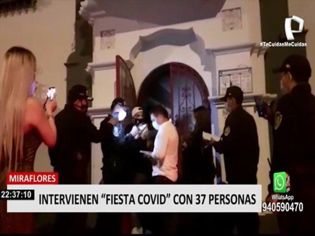 Miraflores: clausuran restaurante que operaba como bar clandestino de noche