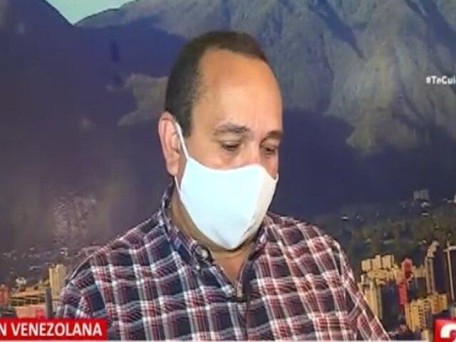 Presidente de ONG Unión Venezolana pide perdón por crímenes cometidos por compatriotas suyos
