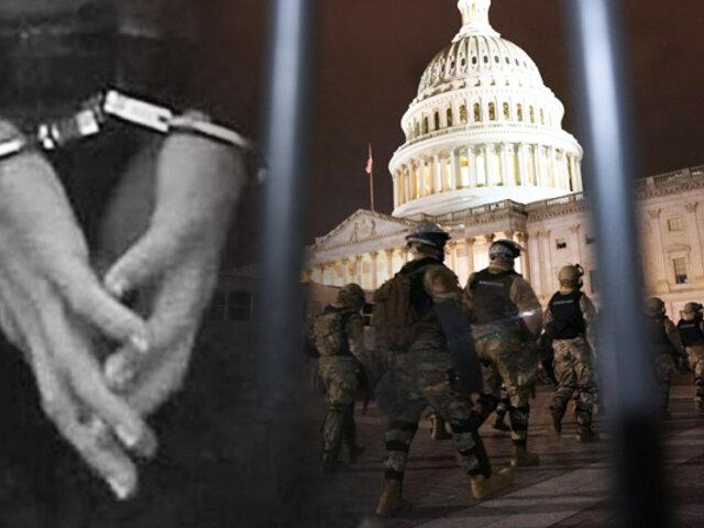 EEUU: Detienen a un hombre armado  con credenciales para la investidura de Biden