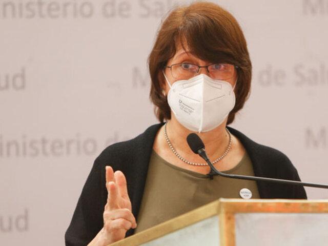 Ministra Mazzetti anuncia distribución de insumos médicos complejos a nivel nacional