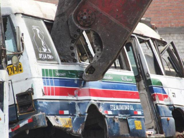 ATU propone chatarreo de vehículos que vayan al depósito por exceso de papeletas