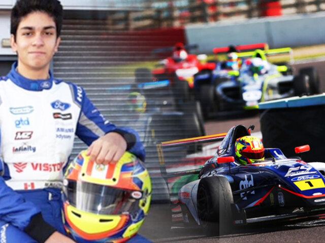 Automovilismo: Matías Zagazeta acabó sexto en la F4 UAE