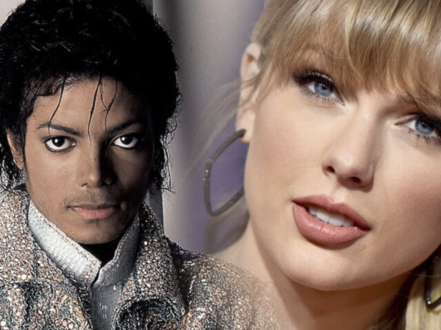 Taylor Swift iguala récord de Michael Jackson