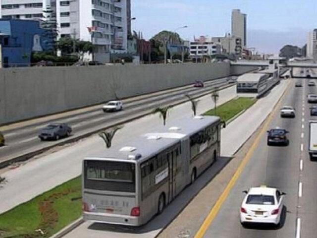 Vía Expresa Grau: taxis y autos particulares podrán circular hasta el 28 de marzo