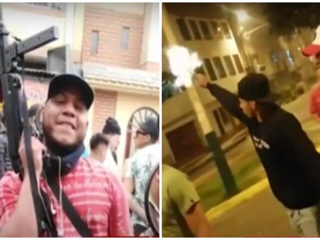 SMP: sujetos son captados desatando balacera hasta con metralletas