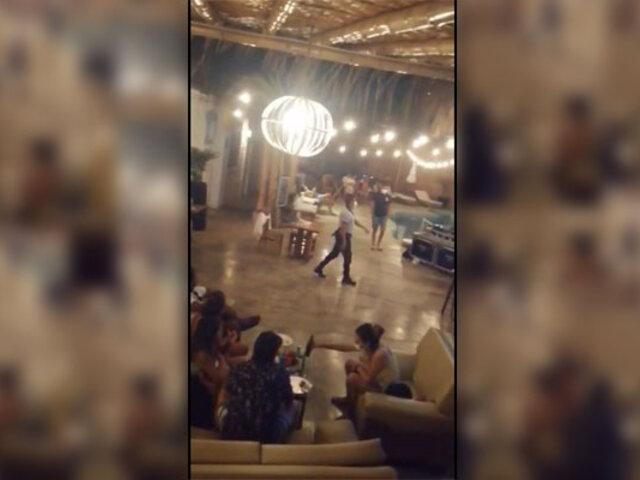 Piura: intervienen a turistas que participaban de una fiesta en conocido hotel de Máncora