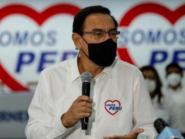 Vizcarra: declaran inadmisible apelación presentada contra su candidatura al Congreso