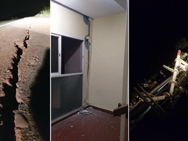 Terremoto de magnitud 6,4 remeció diversas zonas de Argentina