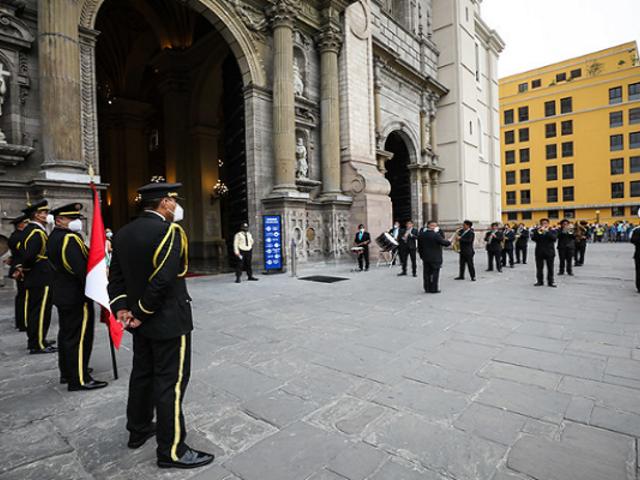La Municipalidad de Lima celebró el aniversario 486 de fundación de la capital
