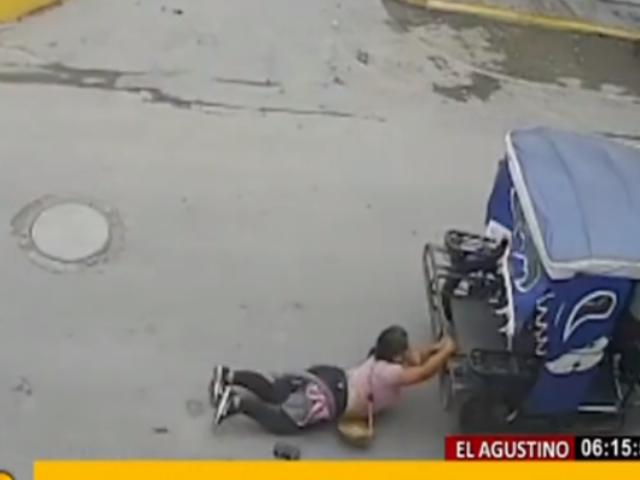 Detienen a sospechosos de asalto y arrastre en mototaxi