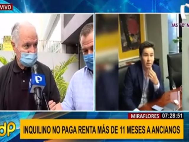 Miraflores: ancianos luchan por sacar de oficina a inquilino que debe más de 11 meses de renta