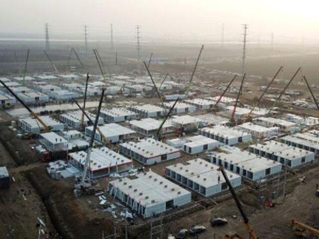 China construye a toda prisa nuevos centros de cuarentena por rebrote de Covid-19