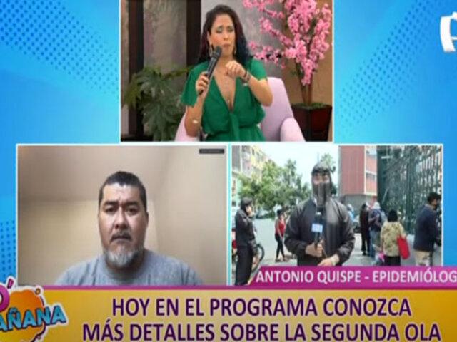 D' Mañana: familiares de infectados con Covid-19 no encuentran camas UCI en hospital Loayza