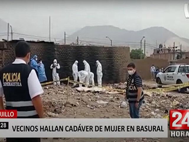 Trujillo: asesinan a mujer y dejan su cuerpo abandonado en un basural