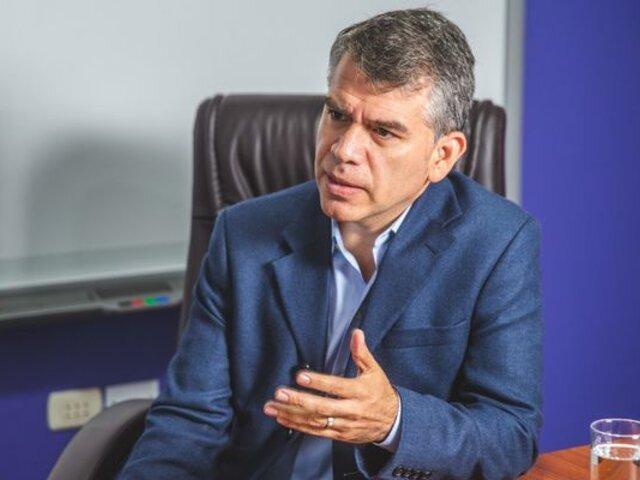 Guzmán afirma que Perú está en una mejor situación con Sagasti a comparación con Merino