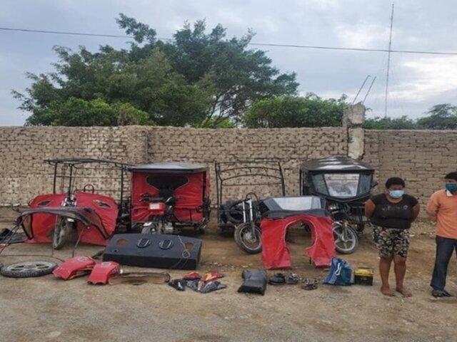 Lambayeque: capturan a presuntos integrantes de banda dedicada a robo agravado
