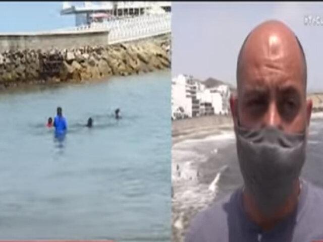 Alcalde de Punta Hermosa propone al gobierno uso de playas para sus vecinos