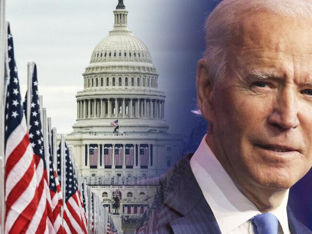 Joe Biden llegó a Washington para convertirse en el nuevo presidente de EEUU