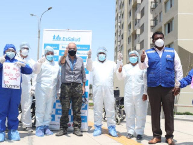 Gabriel Quijandría: ministro del ambiente fue dado de alta tras vencer al covid-19