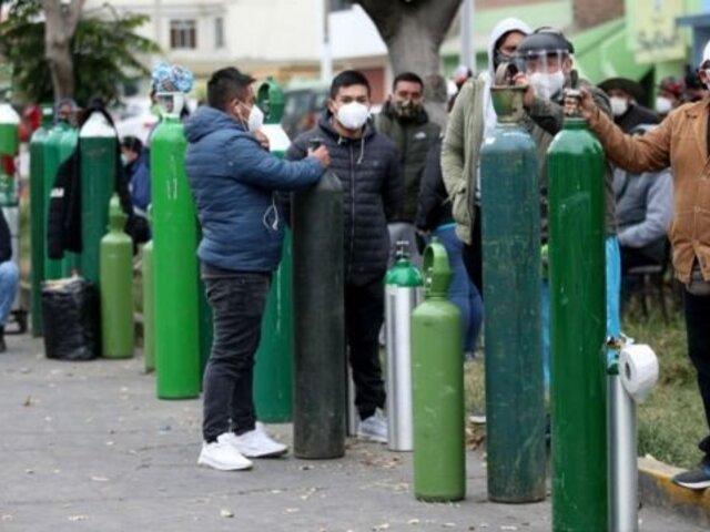Demanda de oxígeno medicinal se incrementó en más de 300 %, advierte Linde Perú