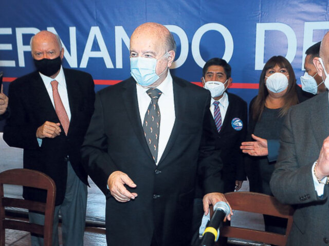 Elecciones 2021: Declaran infundada tacha contra candidatura de Hernando de Soto