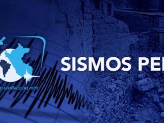 IGP: 5 temblores registrados en Ica no pueden asociarse directamente a réplicas