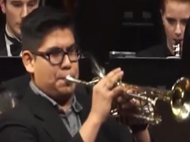 Elmer Churampi, el trompetista peruano que tocó en toma de mando de Joe Biden
