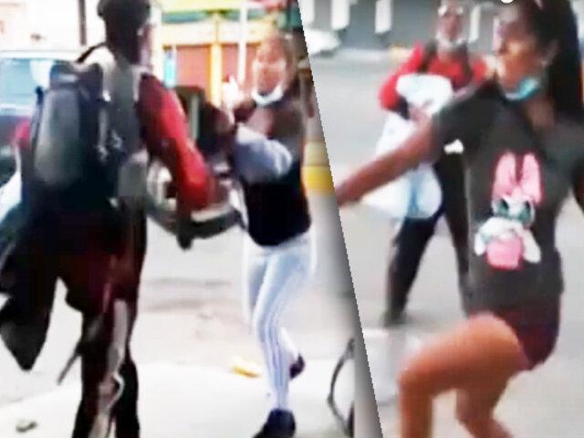 Extranjeros atacan con cuchillo a comerciante en Tacna