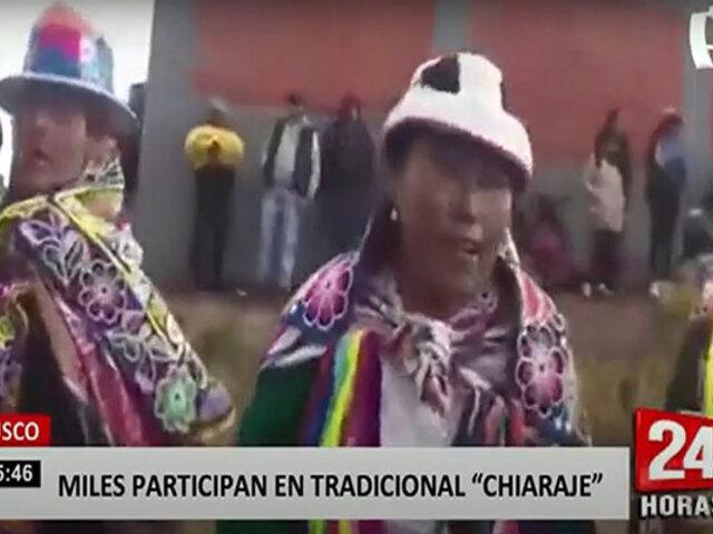 Cusco: comunidades participan en tradicional 'Chiaraje' sin respetar protocolos