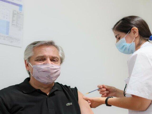 Alberto Fernández: primer mandatario latinoamericano en recibir vacuna contra la COVID-19