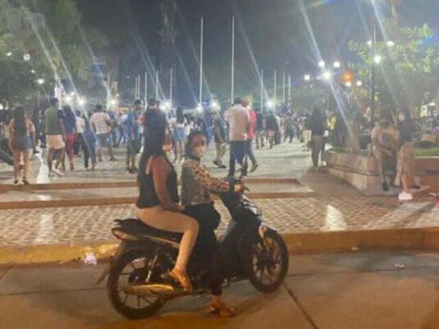 Indignación en Chepén: cientos de personas se reunieron para procesión pese a restricciones