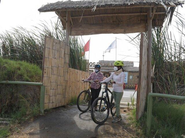 Pantanos de Villa ofrecerá descuentos a visitantes que lleguen en bicicleta