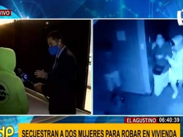 El Agustino: delincuentes secuestran a familia con niños para robar 15 mil soles en casa