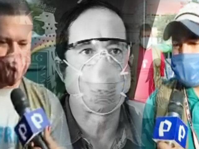 Mototaxistas venezolanos se defiende de acusaciones del alcalde de SJL