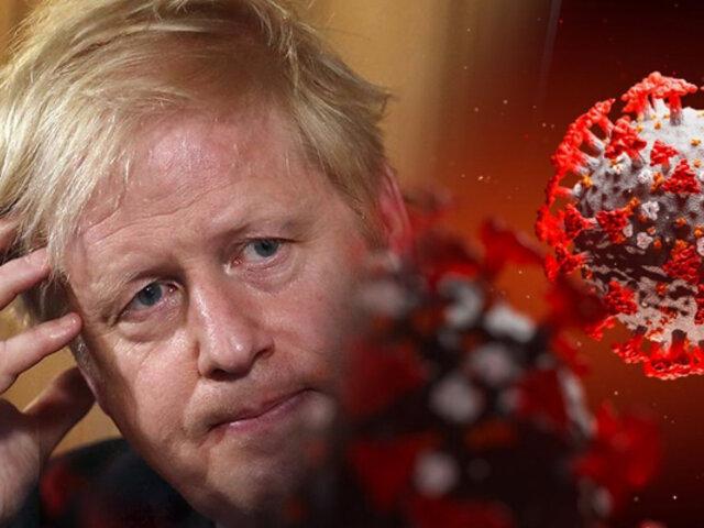Boris Johnson afirma que variante británica del COVID-19 es más mortífera