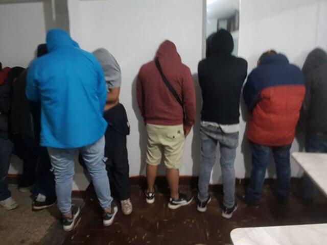 Pese a emergencia por Covid-19: intervienen prostíbulo en Chiclayo que funcionada todo el día