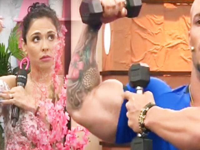 """Aprende a fortalecer brazos, piernas y glúteos con """"D´Mañana"""""""
