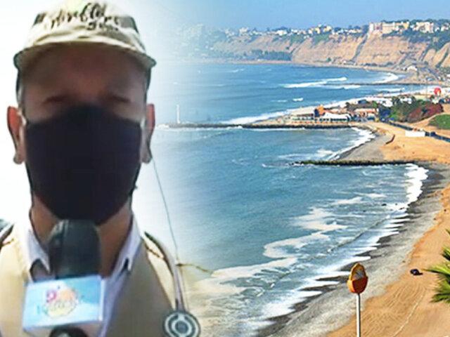 Así están las playas de Miraflores en la segunda ola de COVID-19