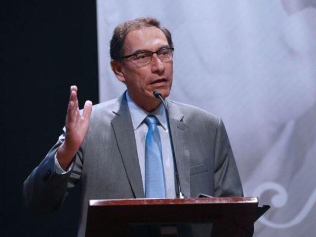Martín Vizcarra plantea postergar las Elecciones Generales