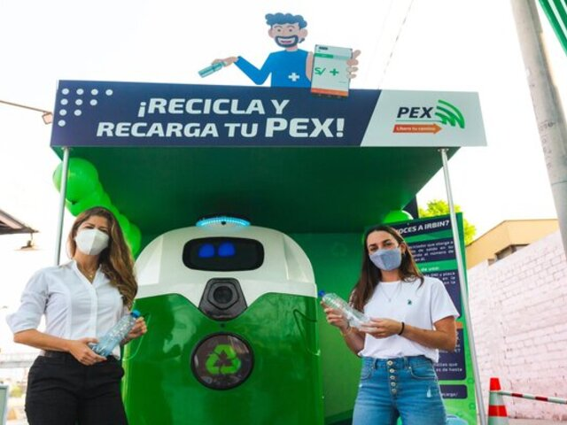 Conductores pueden pagar el peaje reciclando botellas