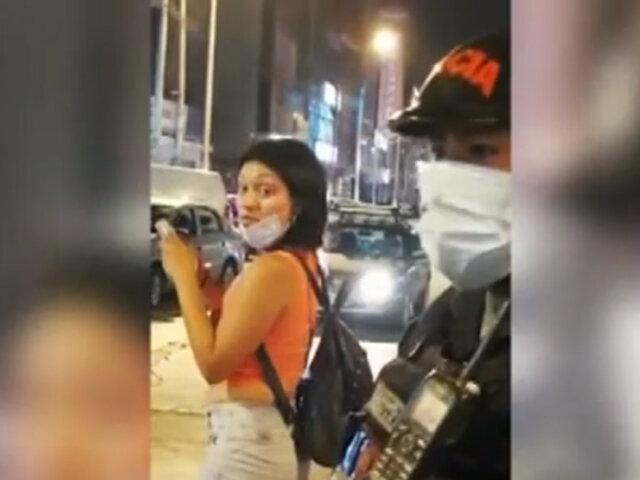 Los Olivos: extranjera escupe en la cara a mujer y da positivo a COVID-19 tras prueba